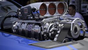 Old School BDS 8-71 Blower Meets New School 5.4L Mustang at Fastlane