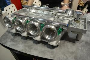 "PRI 2010: Harrop's ""Hurricane"" Throttle Plate Intake Manifold"
