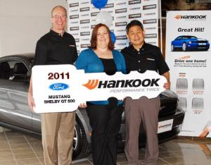 Hankook Tire Gives Away Another Shelby GT500