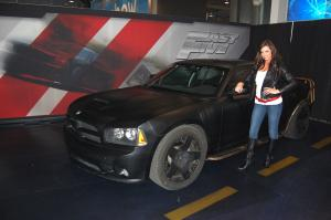 Ladies of the New York International Auto Show