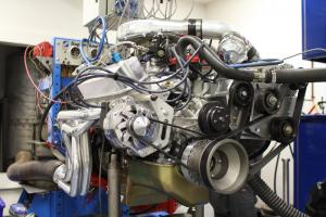 '65 Mustang Project 427ci Makes 1030HP and 873TQ, Plus TCI Front End