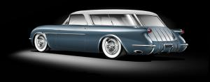 Superior 54 Kit Pays Tribute to the '54 Corvette-Nomad Concept
