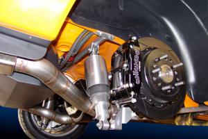 Ridetech's Airbar Rear Suspension for 1st Generation Camaro.