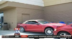 Video: Man Uses Mini Van to Stop Shoplifters' Mustang