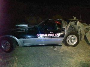 Wrecked Vette Wednesday: Semi Takes Out 1978 C3 Indy Pace Car