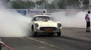 "Video: Lew Stitely's '53 Corvette ""Tijuana Taxi"" Runs Mid 9′s"