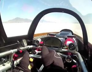 Video: Watch George Poteet's POV 426MPH-Run at Bonneville