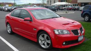GM To Recall Nearly 40,000 '08-'09 Pontiac G8′s for Airbag Fix