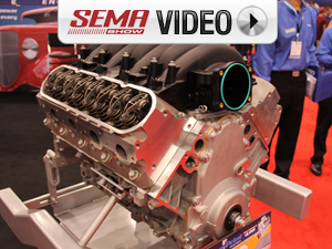 SEMA 2011: BluePrint Muscle Series Cylinder Heads
