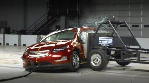 Chevy Volt Catches Fire 3 Weeks After Crash Test
