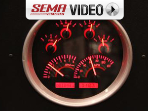 SEMA 2011: Dakota Digital VHX Instrument Gauges
