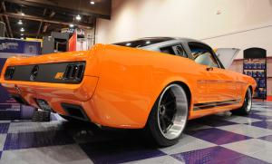 SEMA 2011: The Ring Brothers' Impressive 1965 Mustang Fastback
