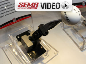 SEMA 2011: Hurst's Short Throw Shifters For the Big Three