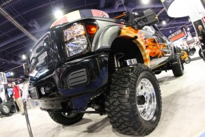 "SEMA 2011: Mickey Thompson's Project ""Big Rig"" F-250 4X4"