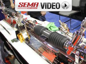 SEMA 2011: American Online Imports' Retro Rack Steering Solution