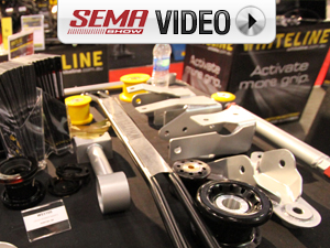 SEMA 2011: Whiteline's Modern Muscle Suspension Systems