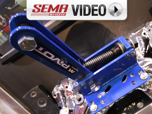 SEMA 2011: MAC's Custom Tie Downs New Engine Pivot Plate