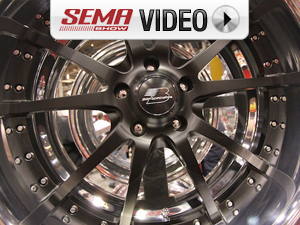 SEMA 2011: Billet Specialties Debut New Powder Coated Center Rim