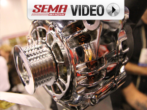 SEMA 2011: Powermaster's New Vintage Starters And Chrome Alternators