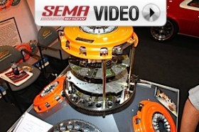 SEMA 2011: Centerforce's Dyad Twin Disc Clutch