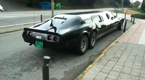Video: C3 Corvette Limo Found in Spain