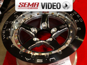 SEMA 2011: Weld's Expands Line of Racing Wheels, Late Model Bead-loc
