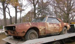 eBay Find: '68 RS Camaro Barn-Find Project Car Goes For $1,580