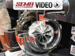 SEMA 2011: Garrett's Powerful New GTX5518R Drag Racing Turbo