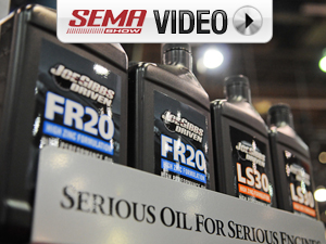 SEMA 2011: Joe Gibbs Driven Ford Modular, GM LS Synthetic Oils