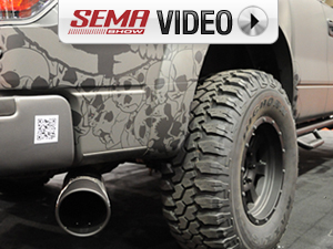 "SEMA 2011: ""Obnoxious"" Metal Mulisha Truck Exhaust From Gibson"