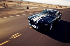 Video: Classic Recreations Shelby GT500CR 900S Shreds Tires