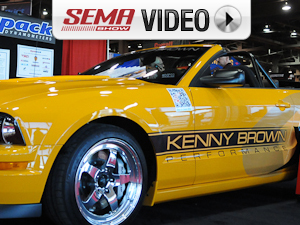 SEMA 2011: Kenny Brown Gen IV Mustang Packages, Turnkey Cars