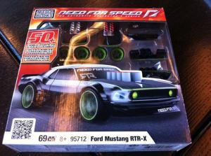 Vaughn Gittin Jr's Mustang RTR-X Gets the Megabloks Treatment