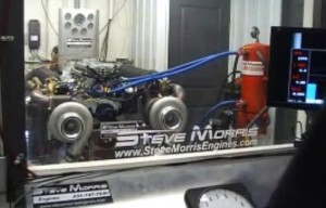 Video: 3,000 Horespower, Twin Turbo Big Block Ford Dyno Run