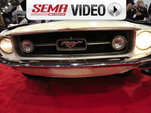 SEMA 2011: Scott Drake&#8217;s Classic and Late Model Restoration Parts