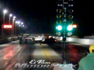 Video: '63 Corvette Flies Across Drag Strip, Somehow Doesn't Crash