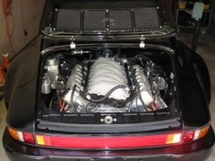 Video: Porsche 911 Gets a 700 HP LS7 Heart Transplant