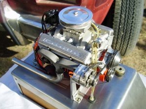Video: World's Smallest Running 327ci Small-Block Engine