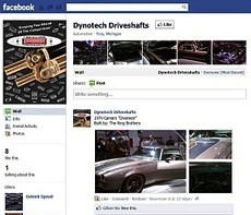 Dynotech Driveshafts Indroduces Their New Facebook Page