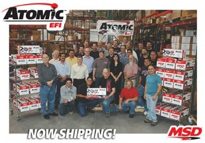 The SEMA Award Winning MSD Atomic EFI Is Now Shipping To Dealers