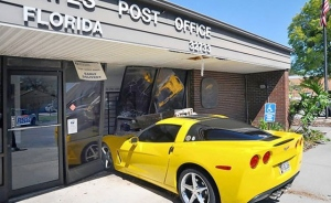 Wrecked Vette Wednesday: Pedal Mistake Equals Instant Drive-Through