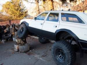 Offroad Wagon? A Corvette Powered LS1 1987 AMC Eagle Wagon