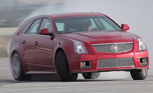 Cadillac CTS-V Wagon vs The Griswold's Wagon Queen Family Truckster