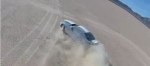 Video: Mustang, Evo Go Dry Lake Bed Drifting