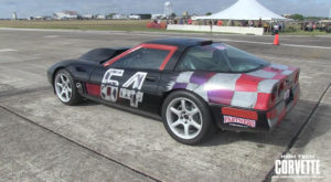 Natually Aspirated C4 Corvette Runs 211 MPH At The Texas Mile