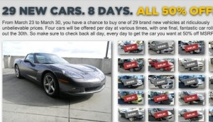 A Chance To Buy A New Corvette For Half Price