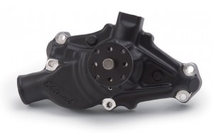 Edelbrock Victor Water Pumps Now Available in Black Powder Coat