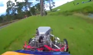 "Video: ""Rat Trap"" Fuel Altered Takes A Tumble In New Zealand"
