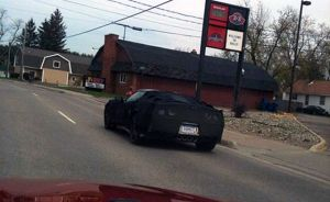 C7 Corvette Prototypes Caught At A Dairy Queen Near Holly, Michigan