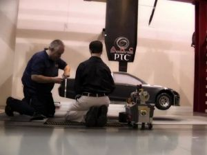 Video: Testing A Mini 2013 Ford Fusion NASCAR In A Wind Tunnel